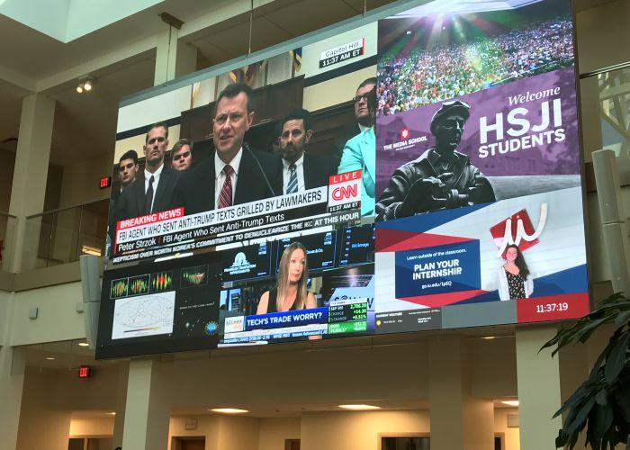 IndyStar reporters visit HSJI, talk Larry Nassar investigation